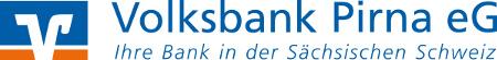 Das Logo der Volksbank Pirna eG